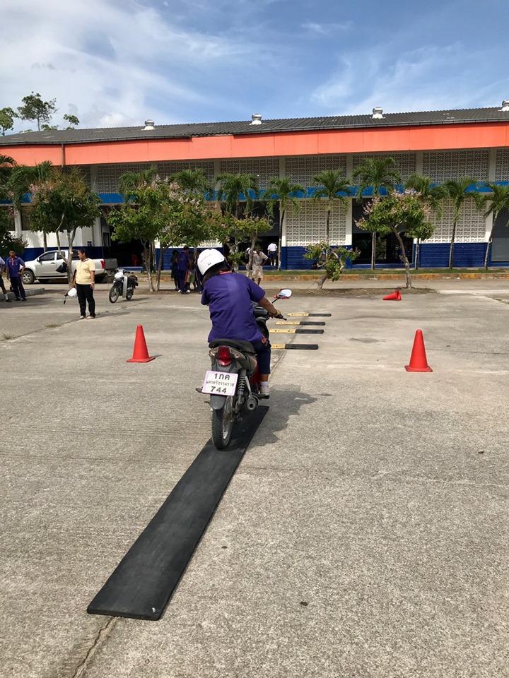 ตั้งใจกลการขอเป็นส่วนหนึ่งในการมอบความปลอดภัยบนท้องถนน โรงเรียนมัธยมศึกษาจุฬาภรณ์